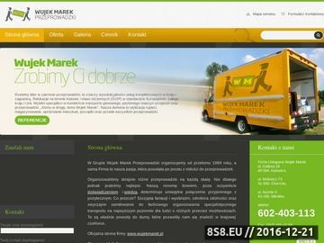 Zrzut strony Usługa przeprowadzek na terenie Górnego Śląska