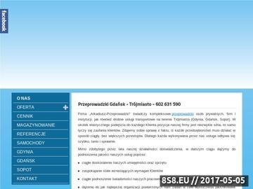 Zrzut strony Przeprowadzki Gdańsk