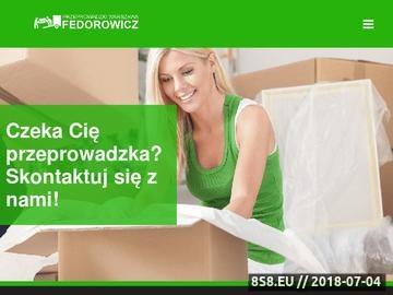 Zrzut strony Tanie przeprowadzki Warszawa