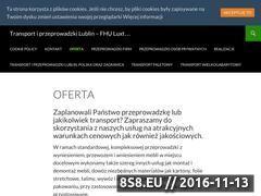 Miniaturka domeny przeprowadzkiluxton.pl
