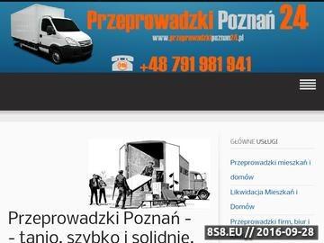 Zrzut strony An-ar przeprowadzki Poznań