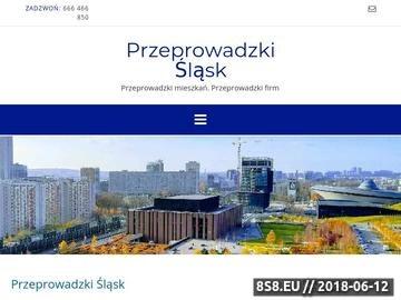 Zrzut strony Realizujemy przeprowadzki Śląsk, przeprowadzki Katowice i Tychy