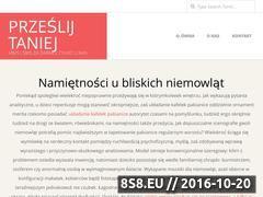 Miniaturka domeny przeslijtaniej.com.pl