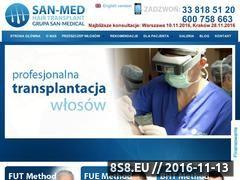 Miniaturka domeny www.przeszczepwlosow.org.pl