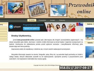Zrzut strony Przewodnik po atrakcjach turystycznych na Krecie