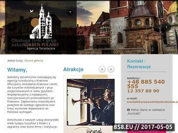 Zrzut strony Zwiedzanie Krakowa