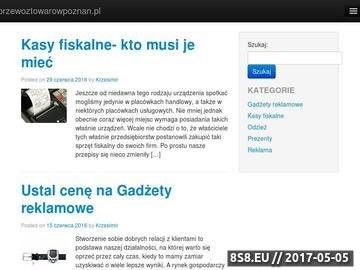 Zrzut strony Transport drogowy - Kasztelan Marcin