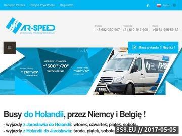 Zrzut strony Przewozy z Jarosławia do Holandii, Niemiec oraz Belgii