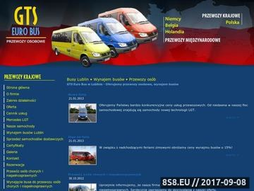 Zrzut strony GTS Euro Bus Lublin - busy lublin, bus lublin