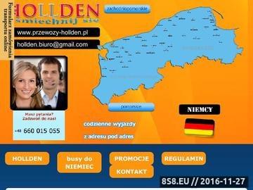 Zrzut strony Codzienny przewóz osób na trasie z Polski do Niemiec