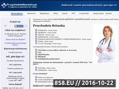 Miniaturka domeny przychodniarozanka.pl