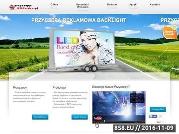 Zrzut strony KMPolska - marketing reklamowy