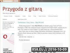 Miniaturka domeny przygodazgitara.blogspot.com