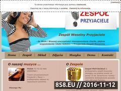 Miniaturka domeny przyjaciele-zespol.pl