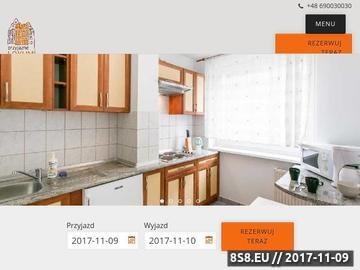 Zrzut strony Noclegi Wrocław