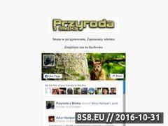 Miniaturka domeny przyrodazbliska.pl