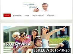 Miniaturka domeny www.przystanekstudent.pl