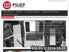Miniaturka domeny www.psuep.pl