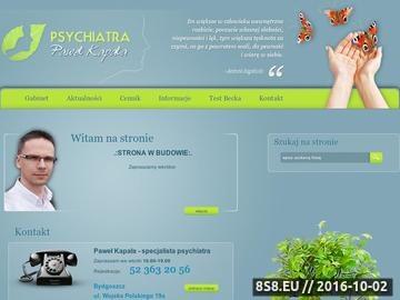 Zrzut strony PAWEŁ KAPAŁA gabinet psychiatry