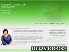 Miniaturka domeny psycholog-bodziony.pl