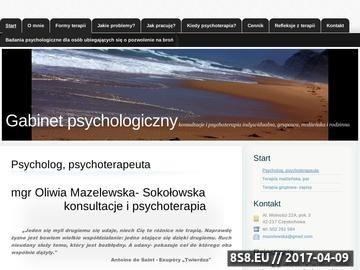 Zrzut strony Psychoterapia w Częstochowie