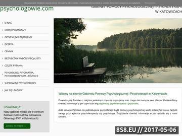 Zrzut strony Psycholog Katowice, psychoterapia Katowice
