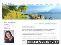 Miniaturka domeny www.psychoterapia-babicz.pl