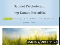Miniaturka domeny www.psychoterapia-kurianska.pl