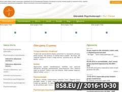Miniaturka domeny www.psychoterapia-saskakepa.pl