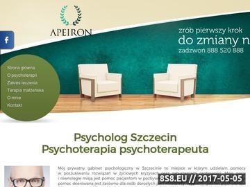 Zrzut strony Terapeuta Szczecin