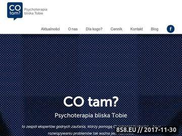 Zrzut strony Psychoterapia cotam?