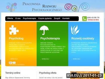 Zrzut strony Psycholog, psychoterapeuta - Legnica