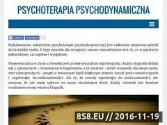 Miniaturka domeny psychoterapiapsychodynamiczna.pl