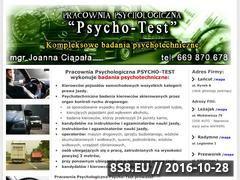 Miniaturka domeny psychotest-lancut.pl