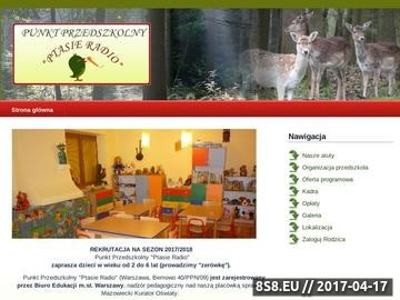 Zrzut strony Przedszkole Ptasie Radio - Warszawa Bemowo