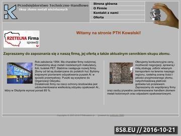 Zrzut strony PTH inż. Piotr Kowalski - skup miedzi