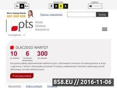 Miniaturka domeny ptstelekom.pl