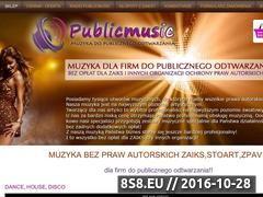 Miniaturka domeny publicmusic.pl