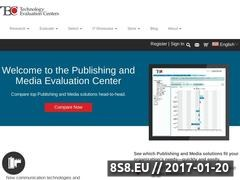 Thumbnail of Publishing and Media Software Evaluation Website