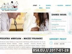 Miniaturka domeny www.pulawski-pediatra.pl
