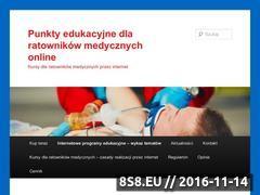 Miniaturka domeny punktydlaratownikow.uratuj.com.pl