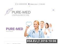 Miniaturka domeny www.pure-med.pl