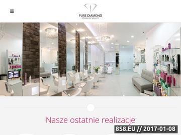 Zrzut strony Dobry fryzjer Kraków