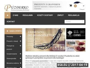 Zrzut strony Biżuteria charms z grawerowaniem sklep Puzderko