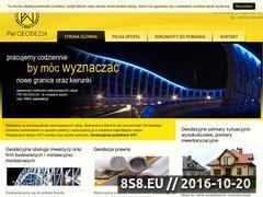 Miniaturka domeny www.pwgeodezja.pl