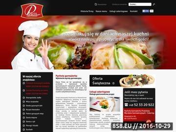 Zrzut strony Usługi cateringowe