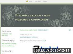 Miniaturka domeny pysznoscizkuchni.blox.pl