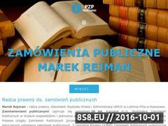 Miniaturka domeny www.pzp-przetargi.pl