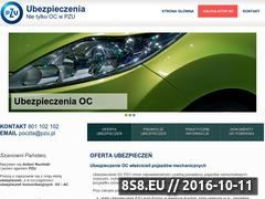 Miniaturka domeny pzu-oc.pl