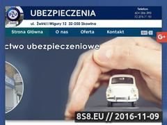 Miniaturka domeny pzuubezpieczeniaskawina.pl